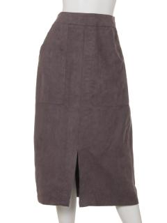 Kスエードタイトスカート