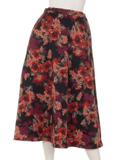 大花フレアースカート