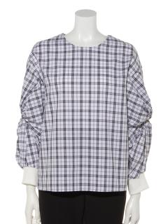 袖ネジレシャツ