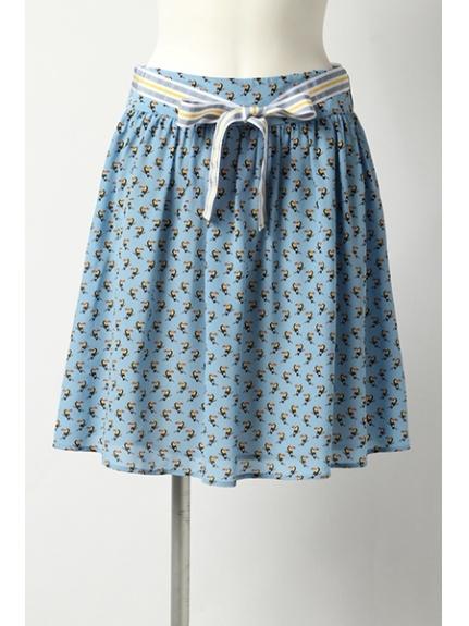 i BLUES (イブルース) スカート ブルー