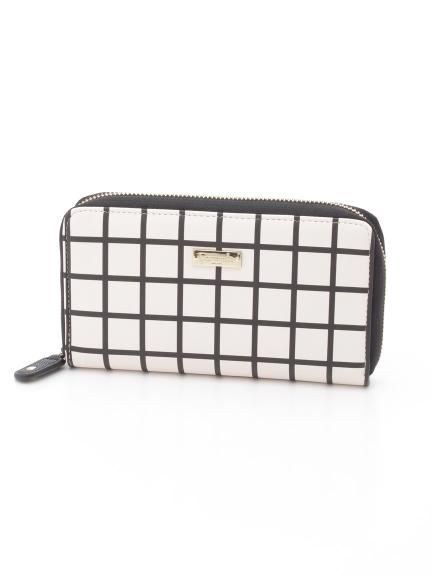 Camomilla (カモミッラ) ラウンドファスナー財布 ホワイト
