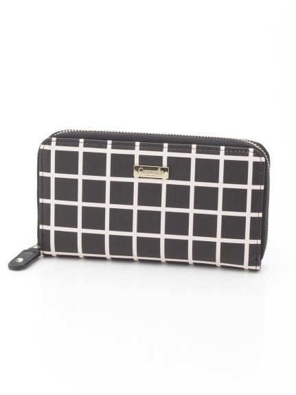 Camomilla (カモミッラ) ラウンドファスナー財布 ブラック