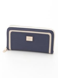 プレーンラウンドファスナー財布