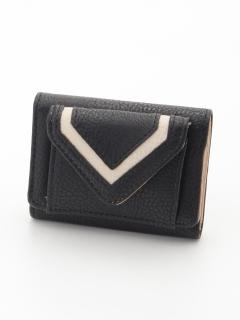 ミニ三つ折り財布プレーン