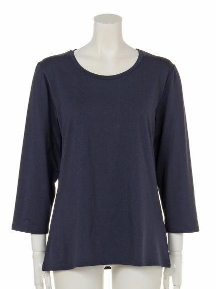 67%OFF Daily Coorde (デイリーコーデ) Tシャツ ネイビー