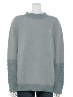 FILA UVタムタムヤーン袖切替セーター