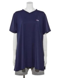 FILA 冷感チュニックTシャツ