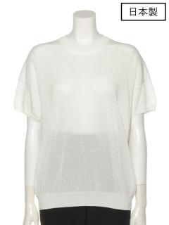 【日本製】ニットTシャツ