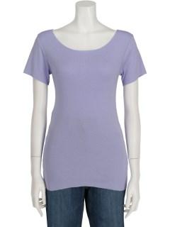コポリフライスUネック半袖Tシャツ
