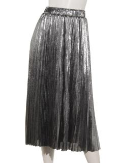 AnEL.dora-doキラキラプリーツスカート