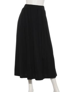 モダール/オーガニックコットンタックフレアースカート