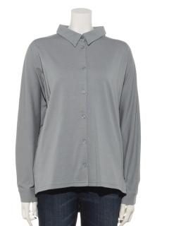 モダール/オーガニックコットン天竺ドルマンスリーブビッグシャツ