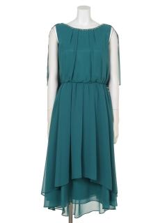 【Je super】ロングテールカットドレス