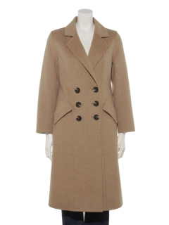 【Brown & Street】Wool Long Double Coat
