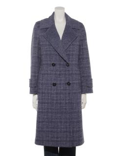 【Brown & Street】IvyCheck Wool Double Coat