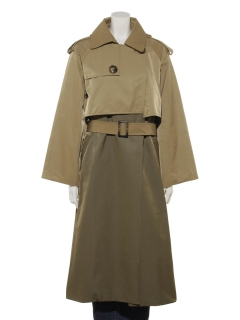 【Brown & Street】ColorCombination Trench Coat