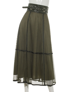 【Brown & Street】【10Days Collection】Eva Mesh Skirt