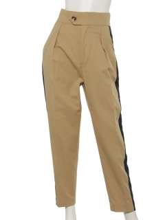 【Brown & Street】SideLine Tapered Pants