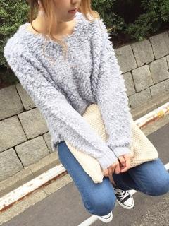 【Marie Hill】ループヤーンニットプルオーバー