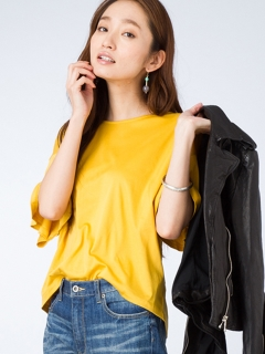 【Marie Hill】バックレースアップTEE