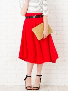【Marie Hill】ガチャベルト付きボリュームスカート