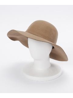 共リボンフェルト女優帽