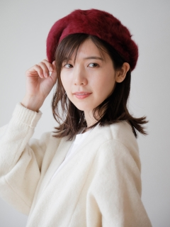 アンゴラベレー帽 (オリジナルバッグ付)