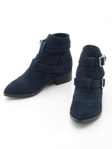 NINE (ナイン) ブーツ NAVY