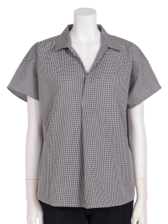 半袖プルオーバーシャツ