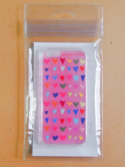 AGATHA RUIZ DE LA PRADA (アガタルイスデラプラダ) iPhone6/6SCasePINK ピンク