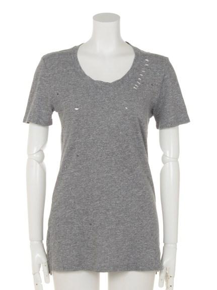 MONROW (モンロー) Tシャツ グレー
