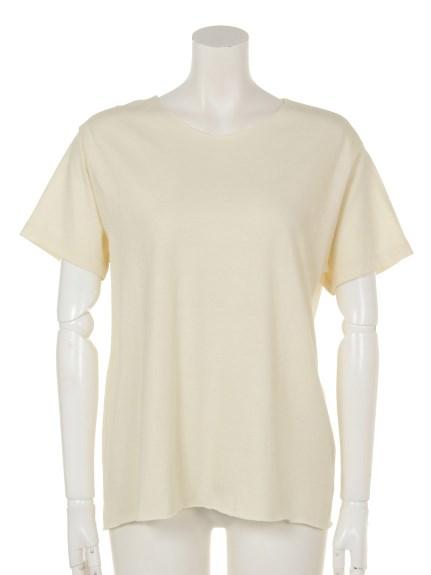Sandrine Rose (サンドリンローズ) Tシャツ オフホワイト