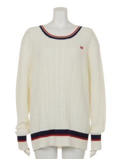 UVスポーティーラインクルーネックセーター