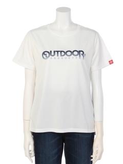 グラデーションプリントTシャツ