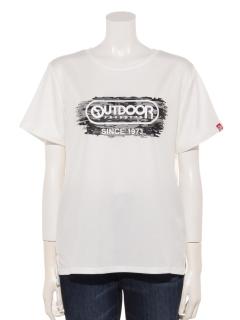 ブロック迷彩プリントTシャツ