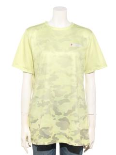 カモフラージュプリントTシャツ