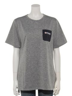 カチオン杢ポケット付Tシャツ