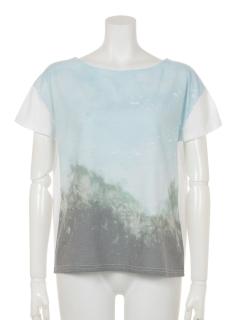 森風景クルーネックTシャツ