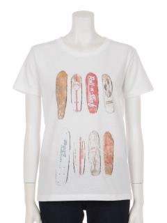 ビンテージスケボープリントTシャツ
