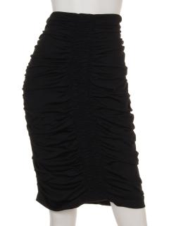 シャーリングタイトスカート