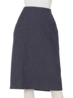 【PLARAPA】ダブルフェイスセミタイトスカート
