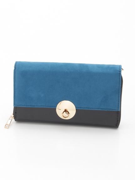 CURI BISCUI (キュリビスキュイ) 3WAYお財布クラッチバッグ ブルー