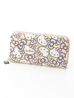 【ハローキティコラボ】ラウンドファスナー財布