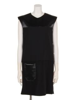 スリーブレスデザインドレス
