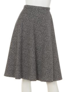 メランジデザインスカート