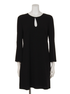 クレープデザインドレス