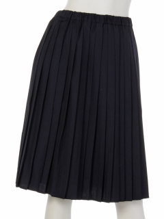【chocol raffine robe】Uプリーツミディスカート