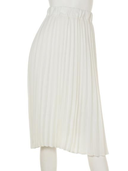 Roomy s (ルーミーズ) プリーツスカート オフホワイト