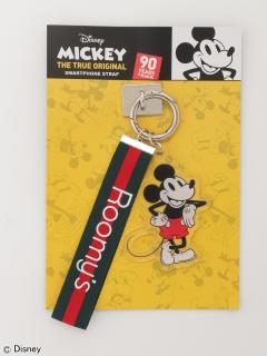 ミッキーマウス90th限定スマートフォンストラップ