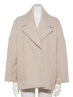 テーラーダブルジャケットコート